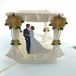 Wedding Arbour 3d pop up card
