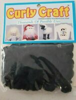 curly craft fiber hair - doll hair -toy wigs- decoation-easter-chritmas-tails
