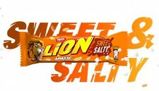 Nestle Candy Chocolate Bars LION Sweet & Salty Peanuts 5pcs x40g / 1.4oz