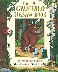 The Gruffalo Jigsaw Book by Donaldson, Julia Board book Book The Cheap Fast Free