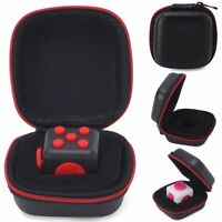 Fidget Cube Case Anxiety Stress Relief Focus Dice Bag Carry Case Packet