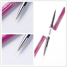 Nail Art Liner Brush Ultra-thin Line Drawing Pen Rhinestone Manicure Salon Tool