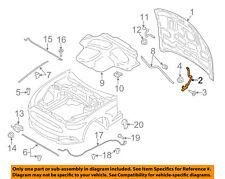 FORD OEM 15-17 Mustang Hood-Hinge Right FR3Z16796C
