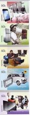 2012 Australia - Technology - Then & Now (5) self adhesive ex booklet  MUH