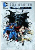 The New 52 Zero Omnibus DC Comics Origins Wonder Woman Batman Superman VF