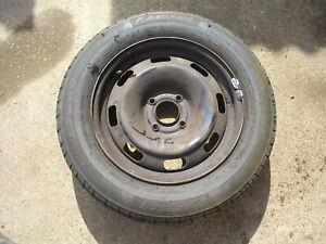 (999586) Peugeot 207 Wheel steel with tyre 185 65 15 budget tyre 6mm