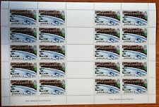 Anguilla 1980 Olympic Games/bobsleigh/Sports 20stamps M/S