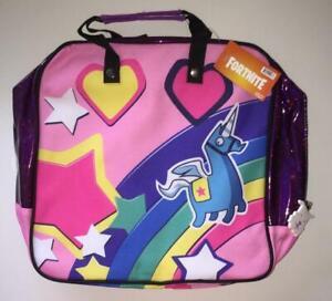 Fortnite Bright Bomber Bag Bling Backpack Unicorn Cosplay Costume Acc FW91575