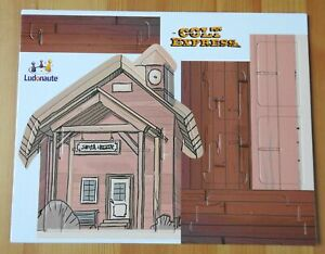 Colt Express – 3D Train Station | Accessory | New | English Rules