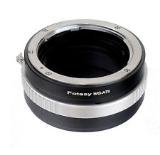 Nikon G AF-S Lens to Sony A7II A7m2 A7S  A7R II Camera Adapter Aperture Control