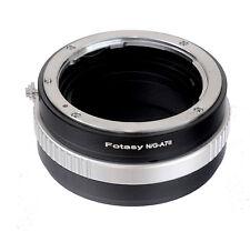 Nikon G AF-S Lens to Sony A7II A7m2 A7S  A7R II Camera Adapter Aperture Control