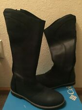Columbia Jessa Waterproof Tall Riding Botas (Mujer) Negro
