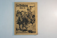 Der Weltkrieg 1914/ 15 Heft 25 Verlag Levy & Müller Stuttgart vintage RAR  B6121