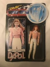 Rare Doctor Who 1987 Dapol Mel Companion  Action Figure Pink Shirt Sealed