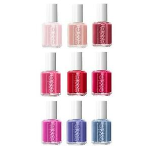 """Essie Nail Polish """"Not Red-y For Bed"""" Winter 2020 Full 9 pcs New Arrival"""
