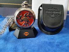 B11F146 - Harley Davidson Franklin Mint Pocket Watch