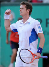 ANDY MURRAY 10x 8 FOTO senza segno-P229-GRAND SLAM TENNIS CHAMPION