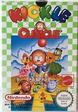 KICKLE CUBICLE MATTEL VERSION NINTENDO NES PAL SYSTEM ITA COME NUOVO