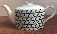 Jameson + Tailor Navy, Light Blue and Cream Porcelain Teapot BNIB Blue Teapot