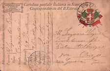 1917 FRANCHIGIA 49° FANTERIA BRIGATA PARMA - GENIO ZAPPATORI P.M. 61 C8-332