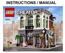 LEGO Creator Expert Brick Bank 10251 Modular INSTRUCTIONS ONLY