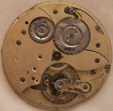 Xfine Chronometre Pocket Watch movement 49,5 mm. in diameter balance broken
