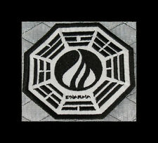 """LOST Dharma Initiative Embroidered patch """"Flame"""""""