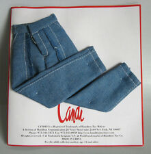"DENIM JEANS WITH FRINGE Fits CANDI 11.5-12"" Fashion Dolls Barbie Integrity NEW"