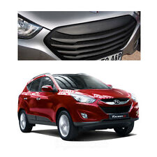 New Front Hood Radiator T Grill Matte Black For Hyundai Tucson ix35 2011-2013