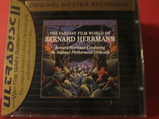 "MFSL-UDCD 656 BERNARD HERRMANN "" THE FANTASY FILM WORLD OF "" (FACTORY SEALED)"