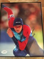 Signed Dan Jansen Signed Photo 8x10 1994 Gold U.S. Olympics JSA COA
