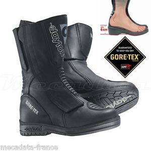 BOTTES MOTO HOMME AVEC TALONS 6 CM GORE-TEX DAYTONA M-STAR GTX®