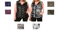 NEW!! Gerry Reversible Down Vest with Variety!!