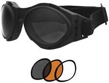 Bug Eye 2 Interchangeable Goggles Bobster Eyewear Black BA2C31AC