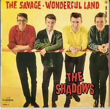 "45 T EP THE SHADOWS  ""THE SAVAGE"""