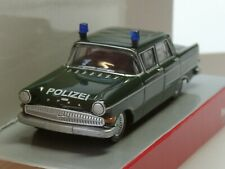 "Herpa Opel Kapitän ""Polizei"" dunkelgrün - 093835 - 1/87"