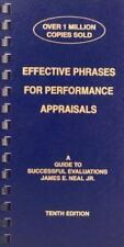 Effective Phrases for Performance Appraisals: A Guide to Successful Evaluations(