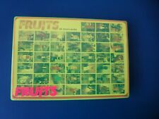 FRUITS, 44 postcards in colored plastic box, by Shoichi Aoki