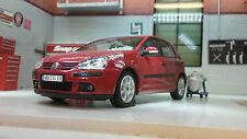 G LGB 1:24 Escala VW GOLF GTI FSI Mark 5V MK5 22458 Rojo Welly DETALLADO modelo