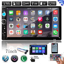 "2DIN 7"" HD In Dash Car Touchscreen Bluetooth Stereo Radio MP3 MP5 USB/TF/AUX/FM"