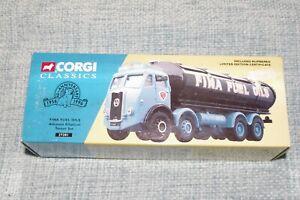 Corgi Classics No 27201 - Atkinson Elliptical Tanker Set - FINA FUEL OILS