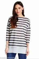 Wallis Acrylic None Striped Jumpers & Cardigans for Women