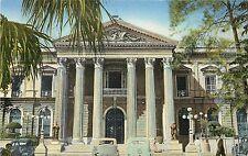 Linen Postcard; Entrada Palacio Nacional San Salvador, El Salvador C.A. Unposted