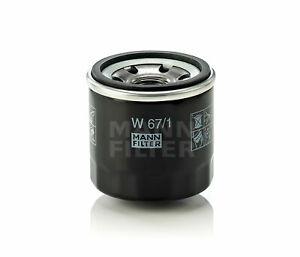 MANN Oil Filter W67/1 fits Nissan X-Trail 2.0 (T31), 2.0 (T32), 2.5 (T32), 2....