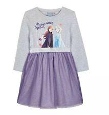 Disney Frozen-Girls' Light Grey 'Frozen' Dress age 4-5 years