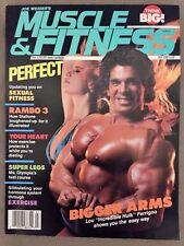 Muscle & Fitness Bodybuilding Magazine/ July 1988/ LOU FERRIGNO