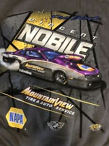 "NHRA DRAG RACING ""PRO STOCK DRIVER"" VINCENT NOBILE HOODIE  SIZE 3X"