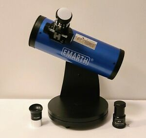 EMARTH 76mm x 300mm Tabletop Dobsonian Telescope (Celestron FirstScope Clone)