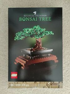 Brand New LEGO Creator Bonsai Tree Botanical Collection 10281
