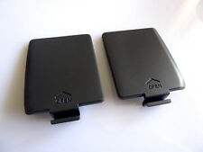 1 Set Akkudeckel Cover Klappe Batteriefach Sega Game Gear Console GG L R schwarz